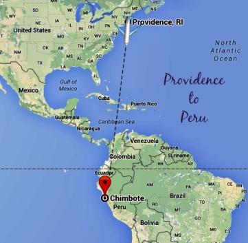 Providence to Peru